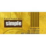 Simple - Cafe, FoodBar